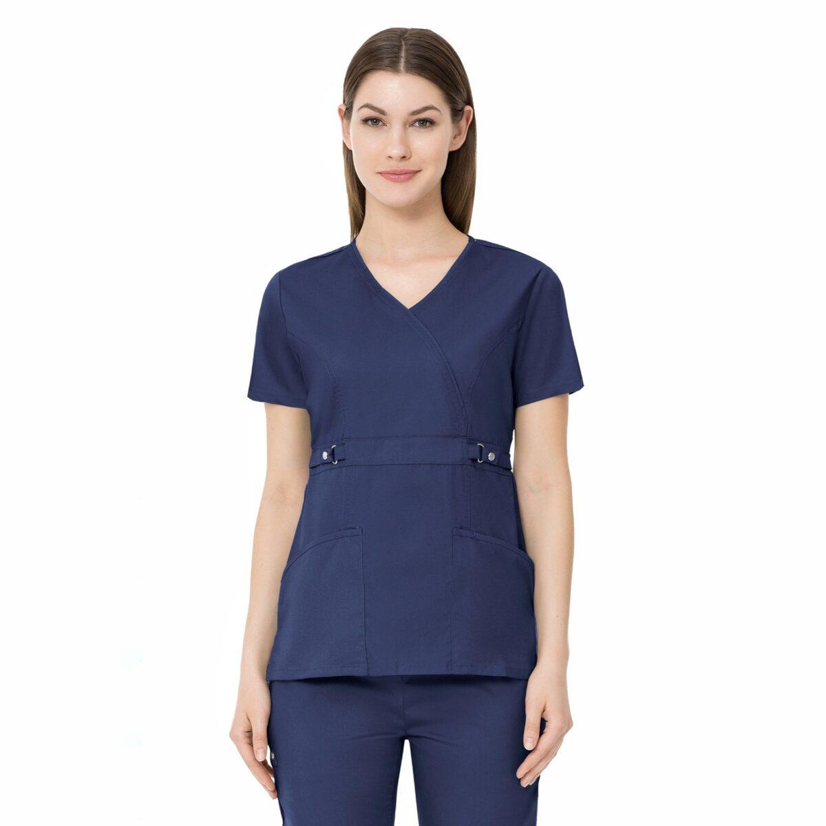 ♥ Женский медицинский костюм Luxe цвет - темно-синий