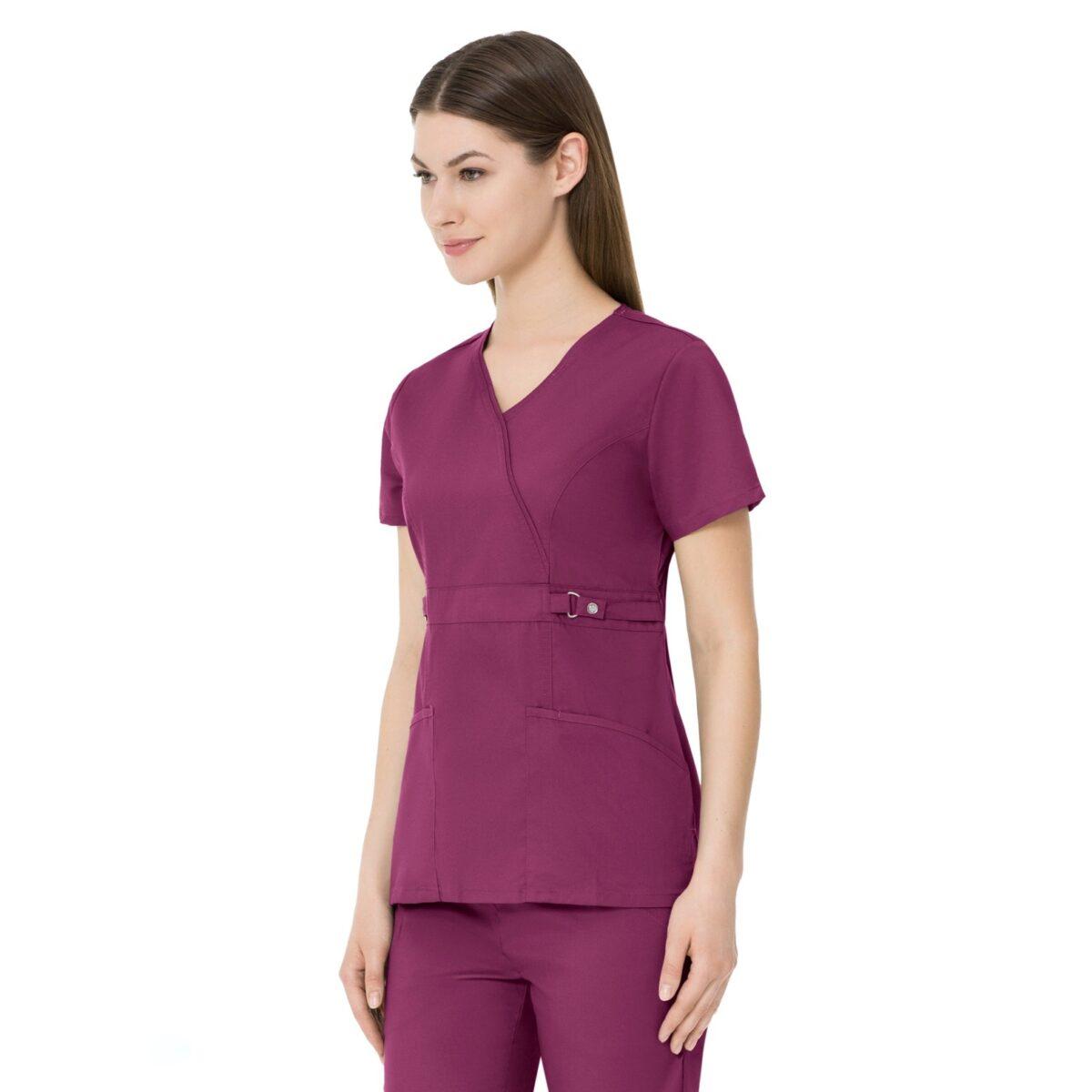 Женский медицинский костюм Revolution цвет вишневый