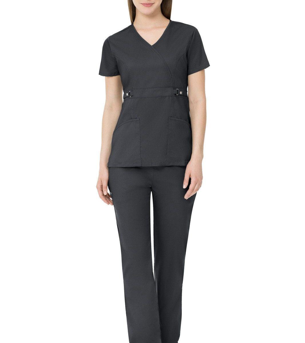Женский медицинский костюм Luxe цвет - черный