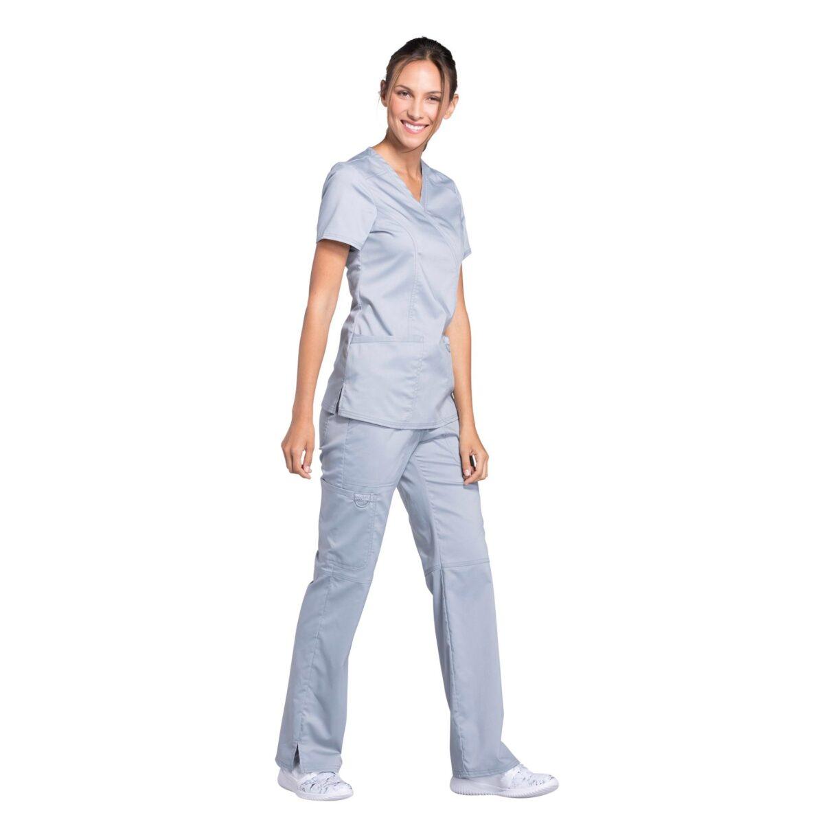Женский медицинский костюм Revolution цвет серый