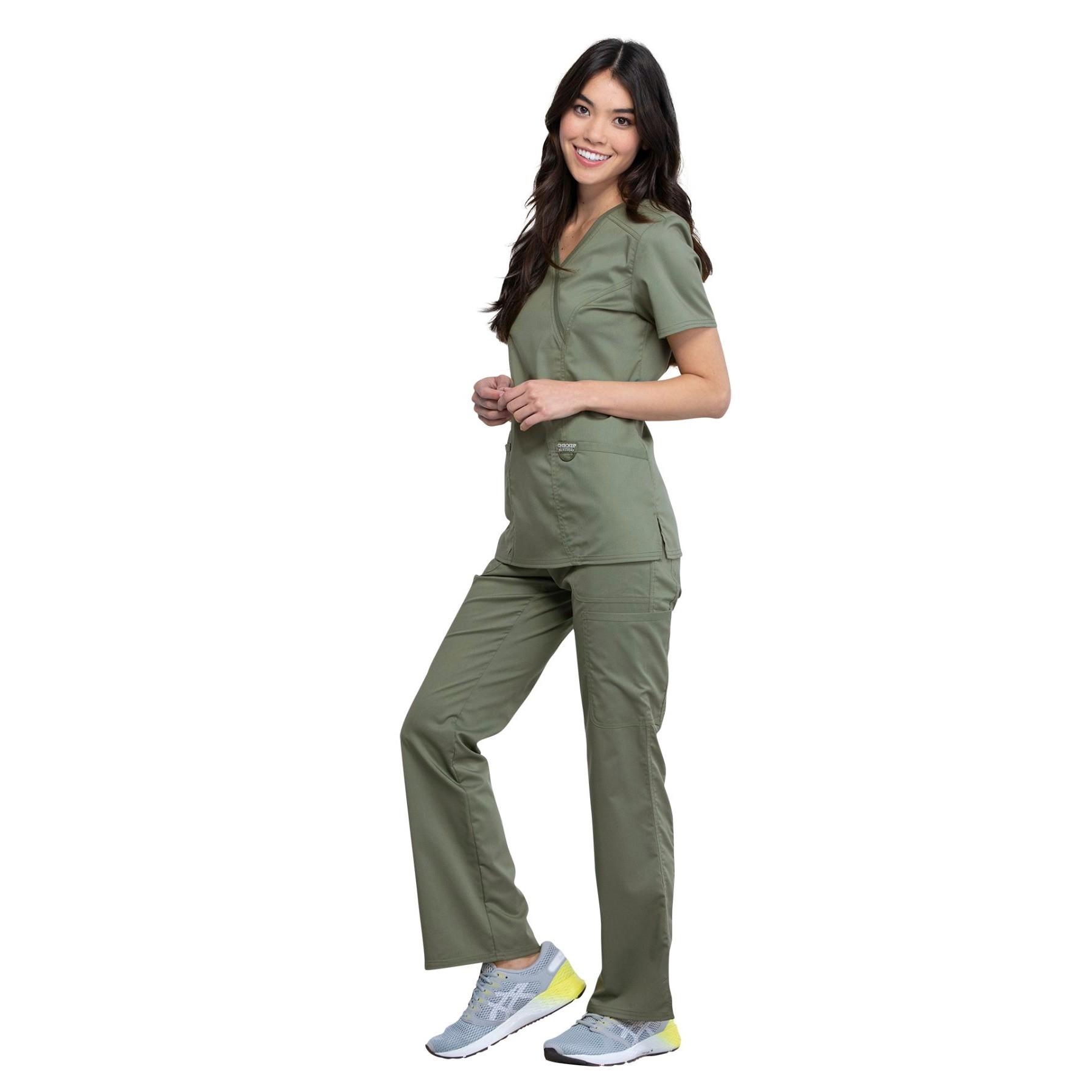 Женский медицинский костюм Revolution цвет оливковый
