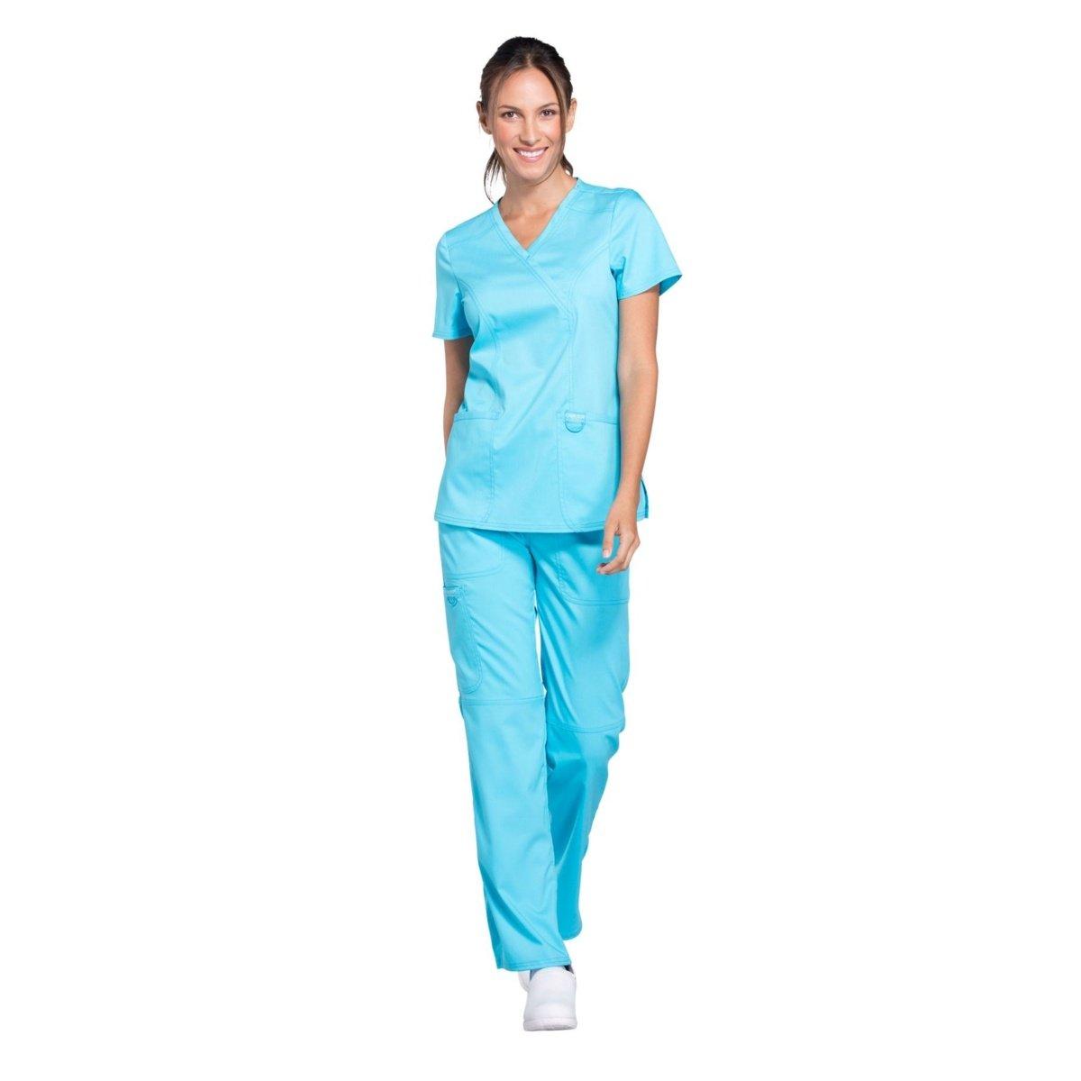 Женский медицинский костюм Revolution цвет небесный