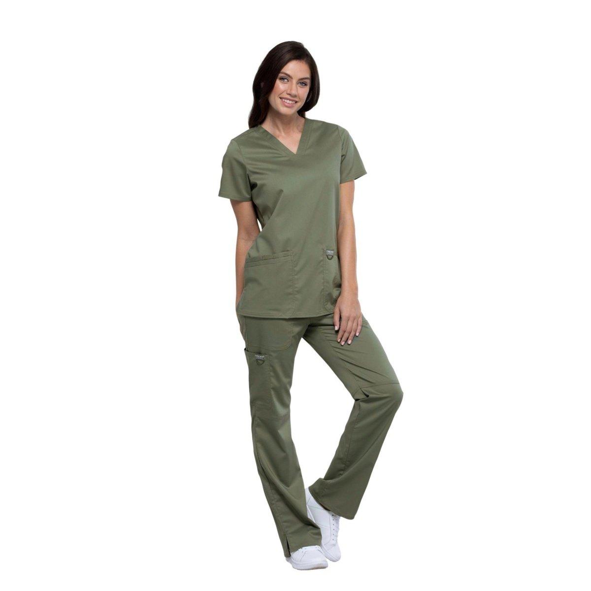 Женский медицинский костюм Revolution цвет- оливковый