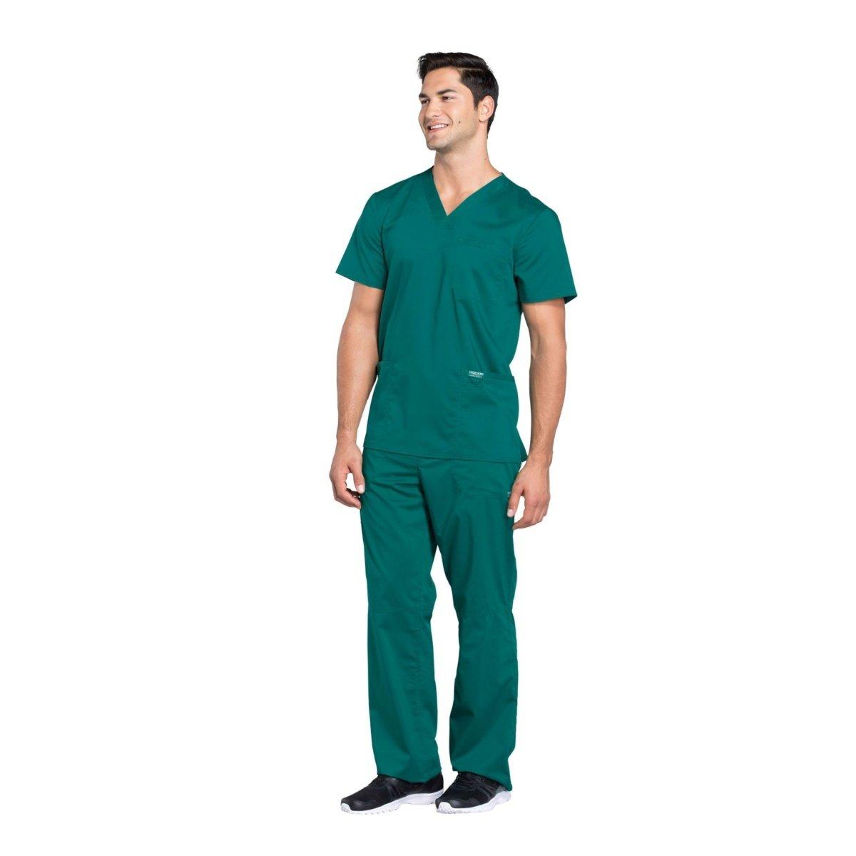 Мужской медицинский костюм Revolution цвет зеленый