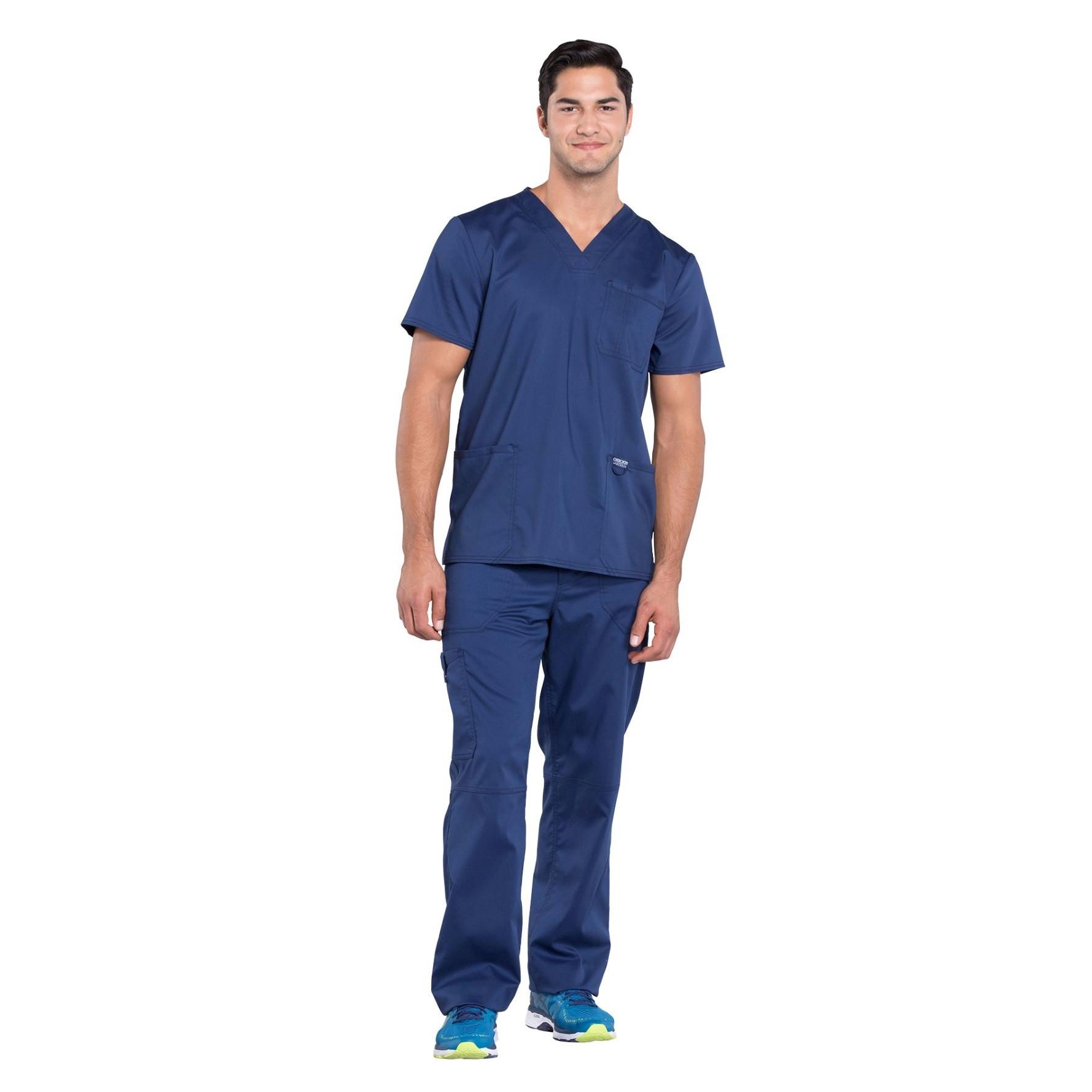 Мужской медицинский костюм Revolution цвет синий