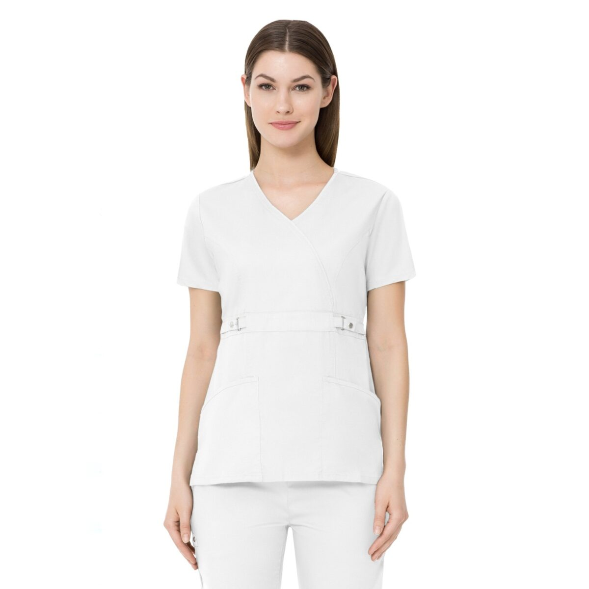 Женский медицинский костюм Luxe цвет - белый