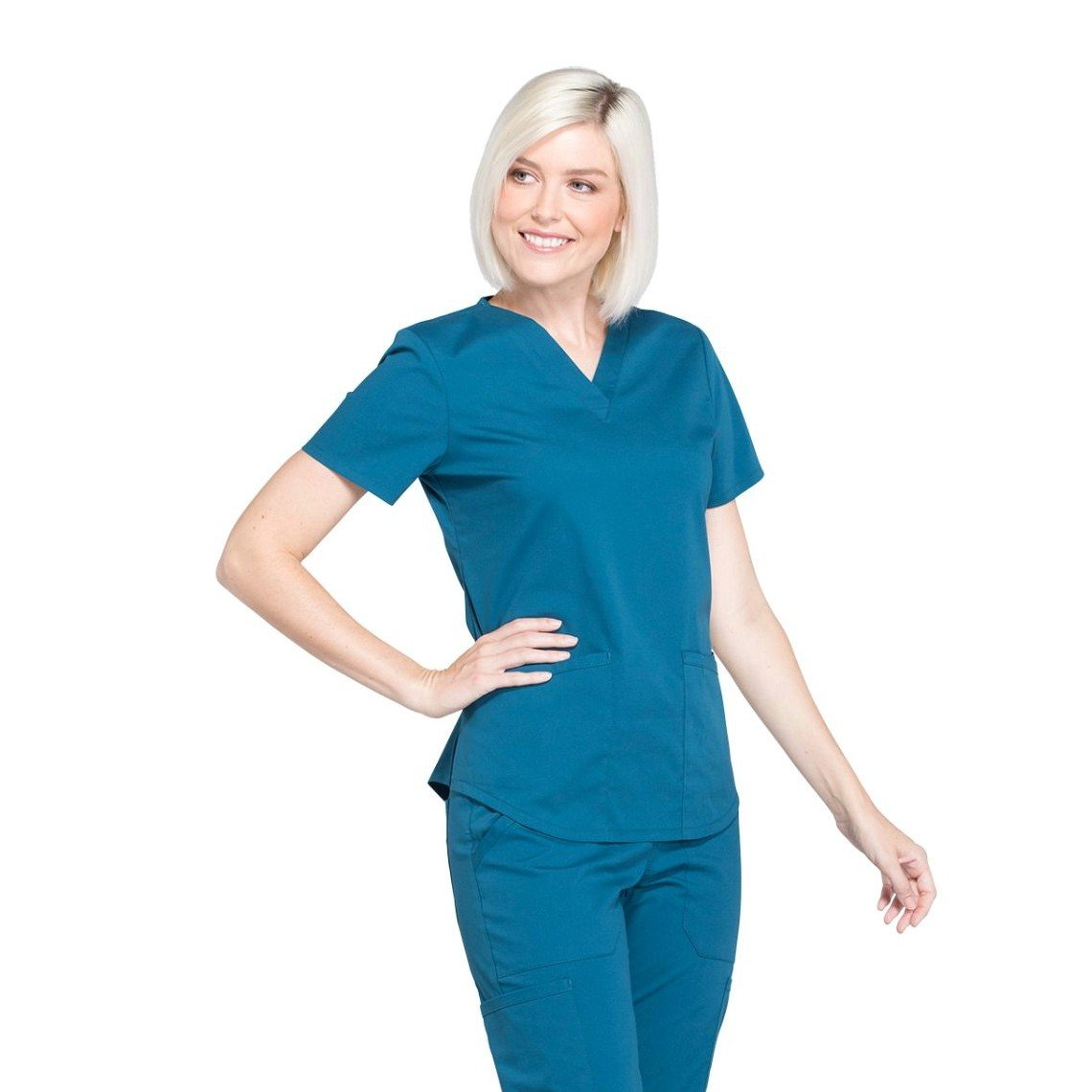 Женский медицинский костюм Professionals цвет морская волна
