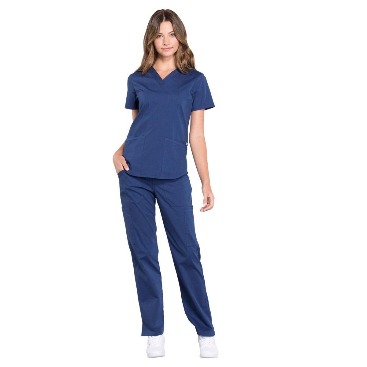 Женский медицинский костюм Cherokee Professionals - цвет синий