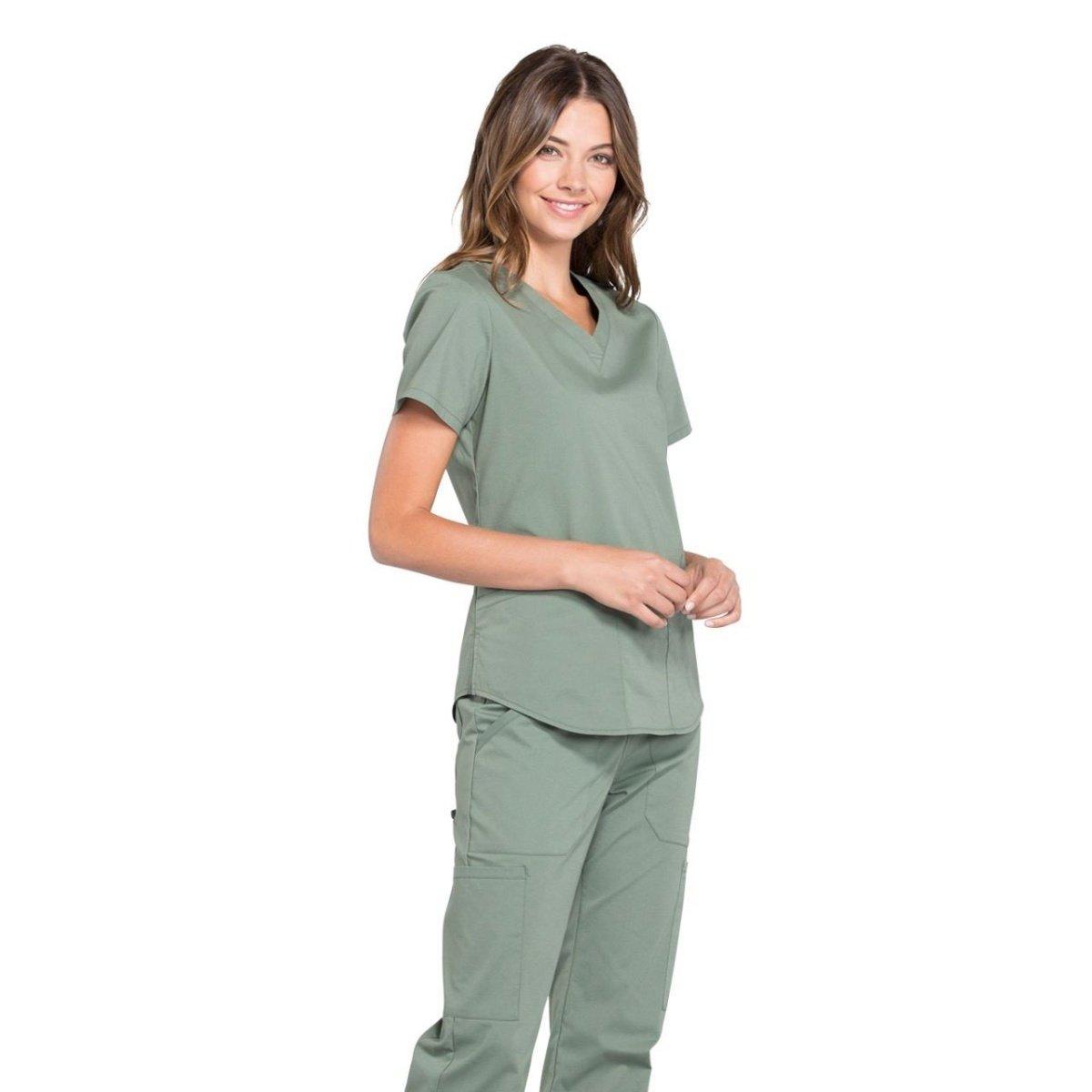 Женский медицинский костюм Professionals цвет оливковый