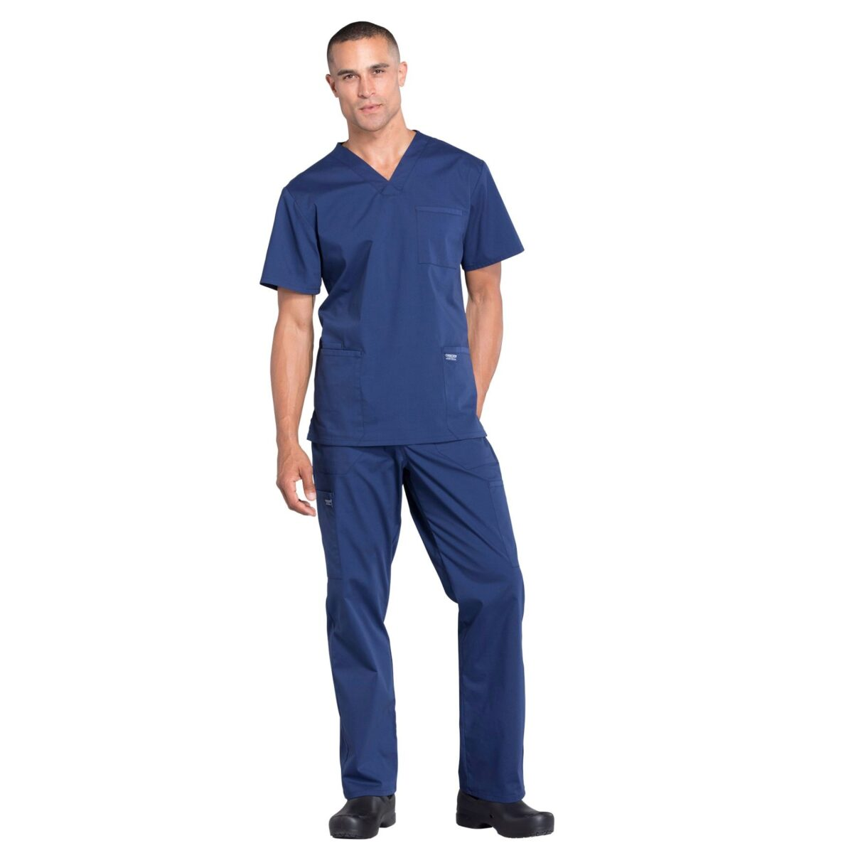 Мужской медицинский костюм Professionals цвет синий