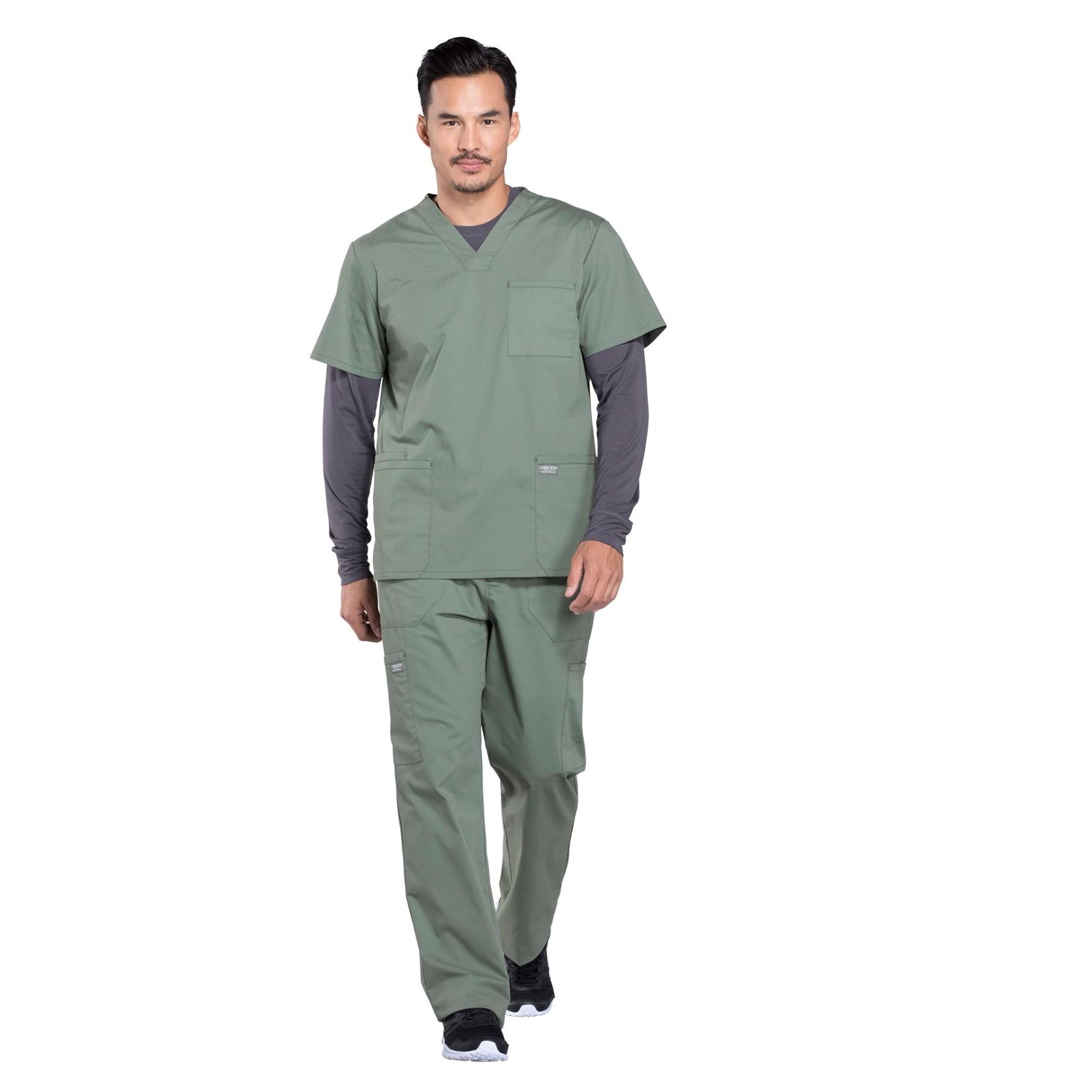 Мужской медицинский костюм Professionals цвет оливковый