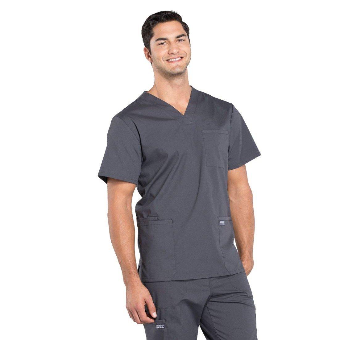 Мужской медицинский костюм Professionals цвет серый