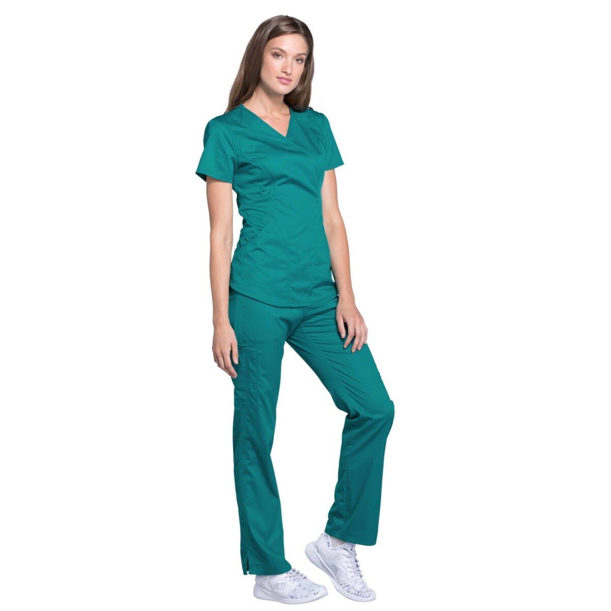 Женский медицинский костюм Lux sport цвет изумрудный