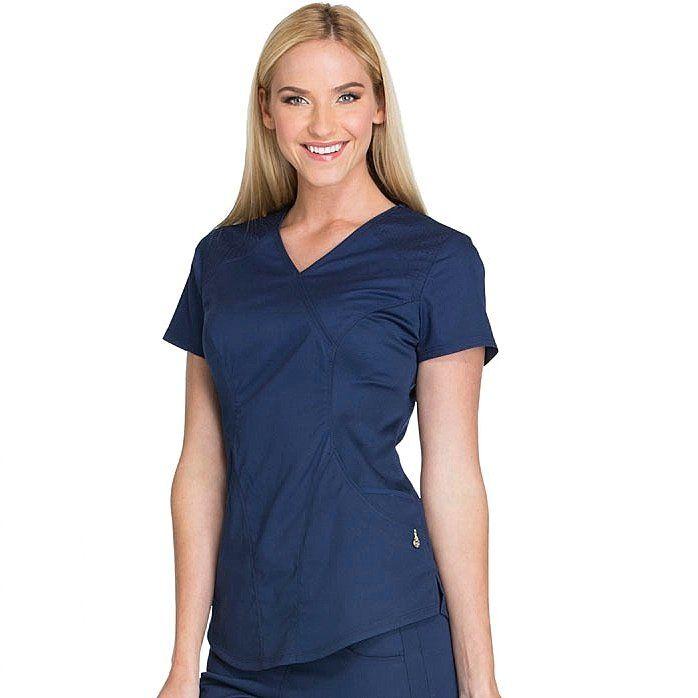 Женский медицинский костюм Lux sport цвет синий