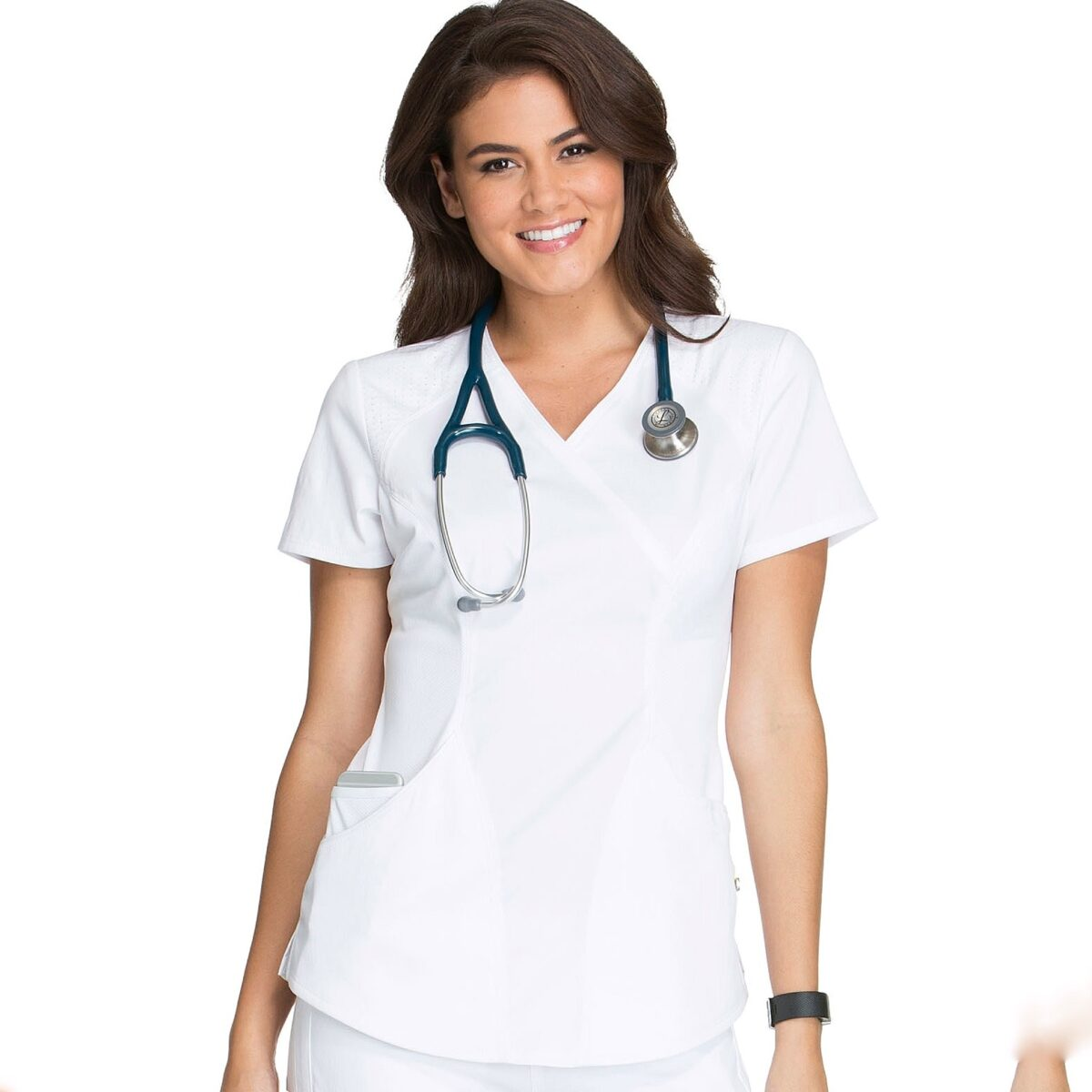 Женский медицинский костюм Lux sport цвет белый