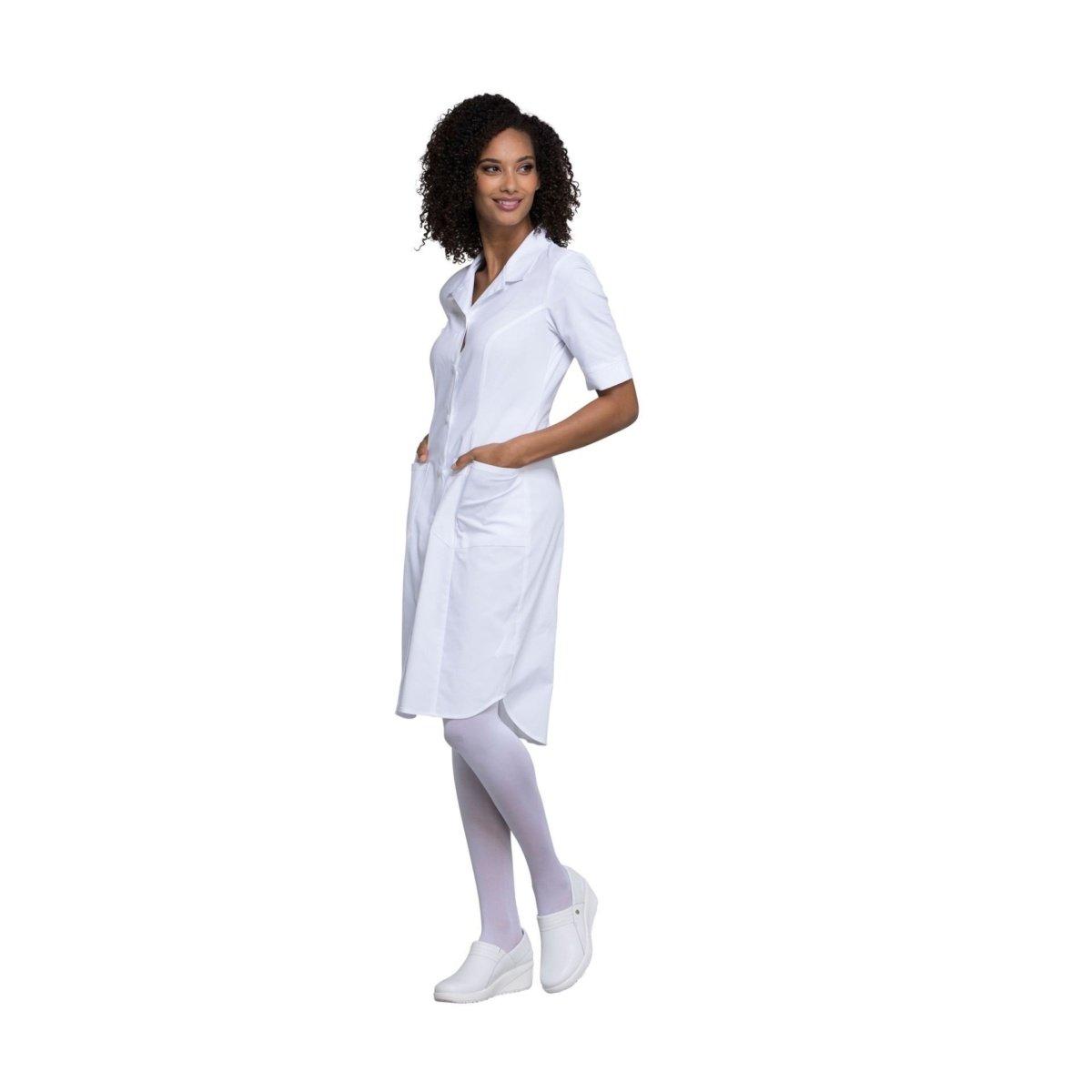 Женский медицинский халат с коротким рукавом Cherokee.