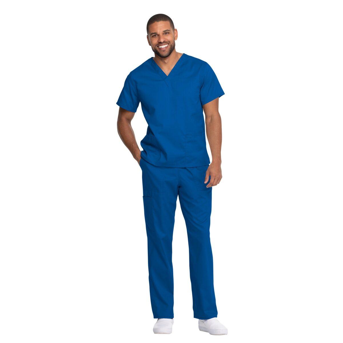 Мужской медицинский костюм Dickies цвет синий