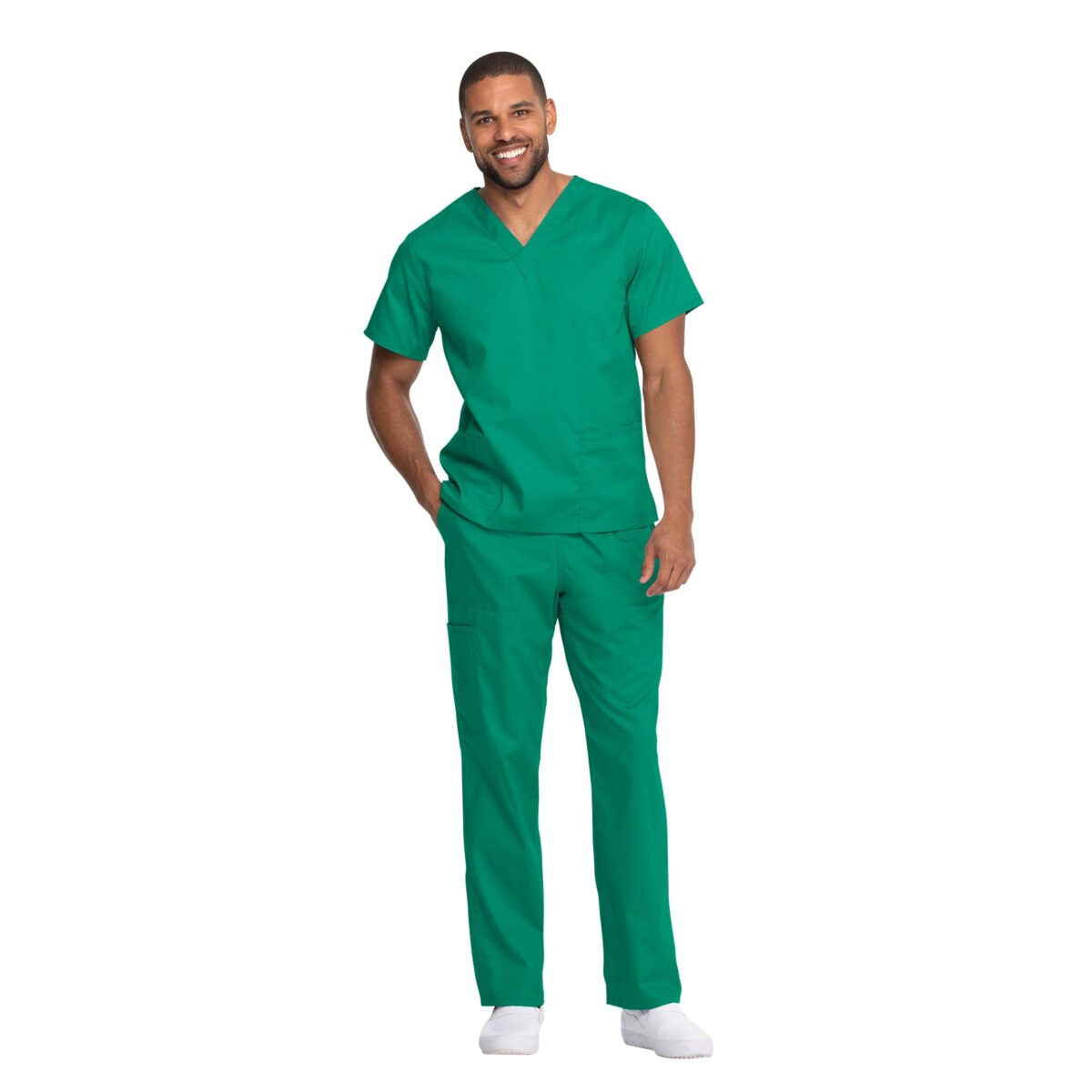 Мужской медицинский костюм Dickies цвет зеленый