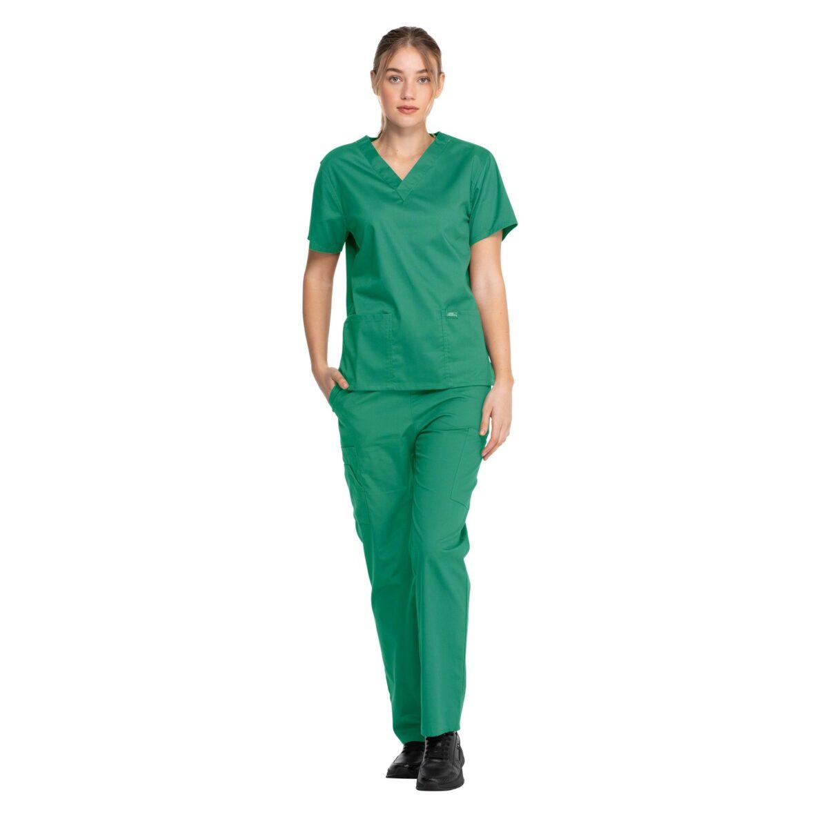 Женский медицинский костюм Dickies цвет зеленый