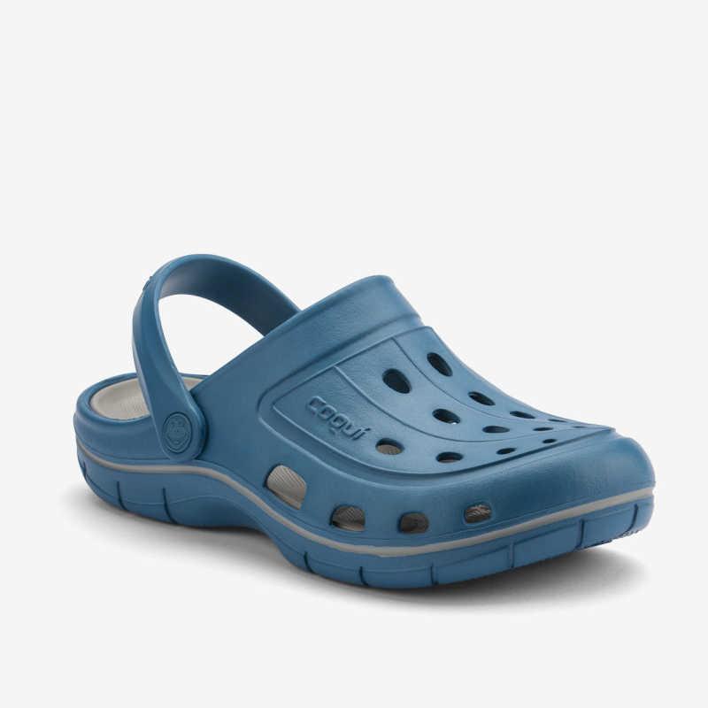 Мужские сабо COQUI модель JUMPER Niagara blue/Grey