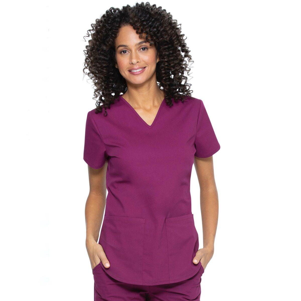 Женский медицинский костюм Vital от Cherokee цвет винный