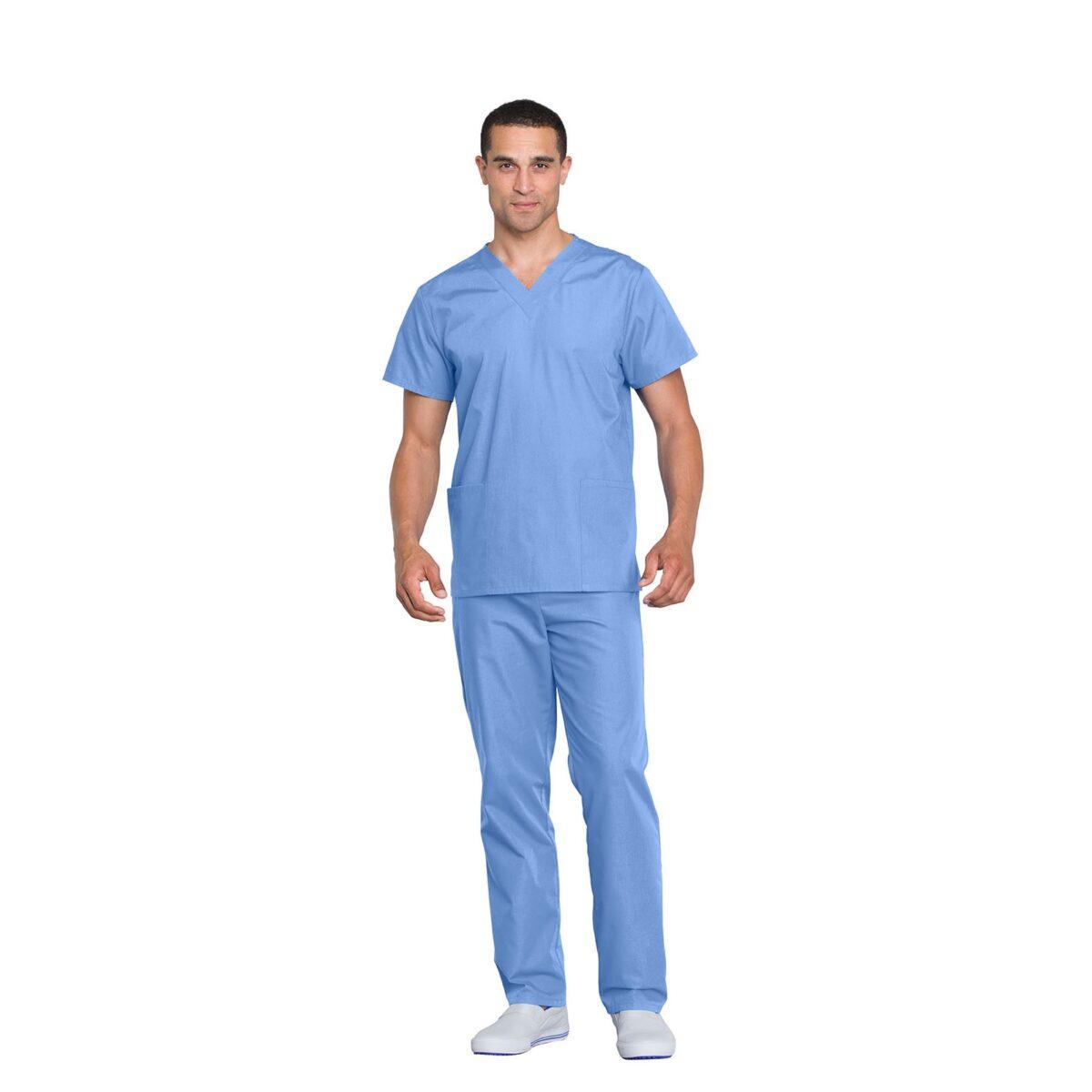 Мужской медицинский костюм Original от Cherokee цвет голубой