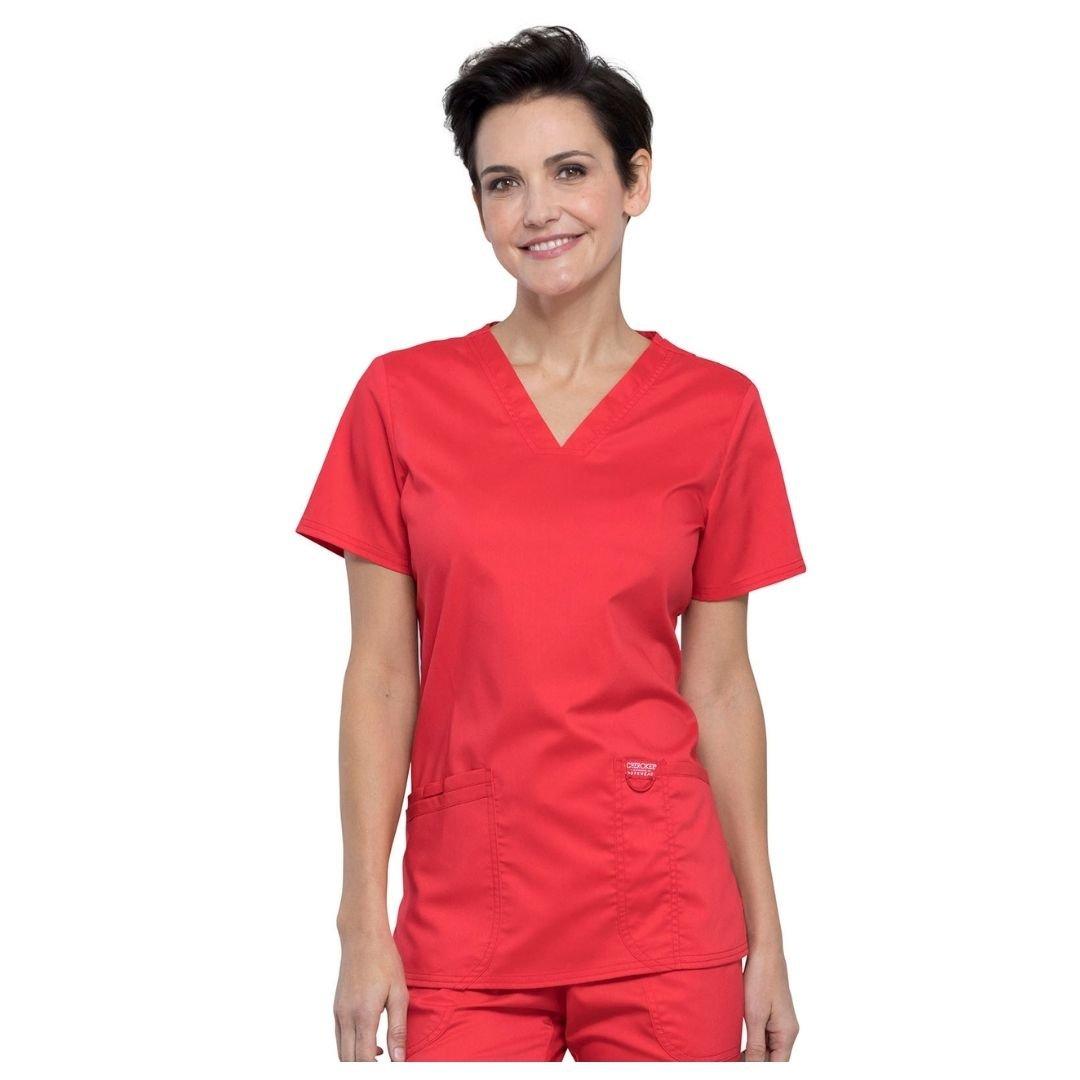 Женский медицинский костюм Cherokee Revolution цвет - цвет красный
