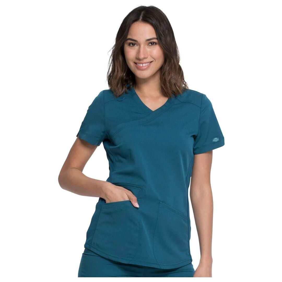 Женский медицинский костюм Dickies Balance - цвет CAR